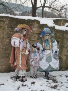 Costumés Vénitiens - Carnaval Vénitien - Atelier la colombe