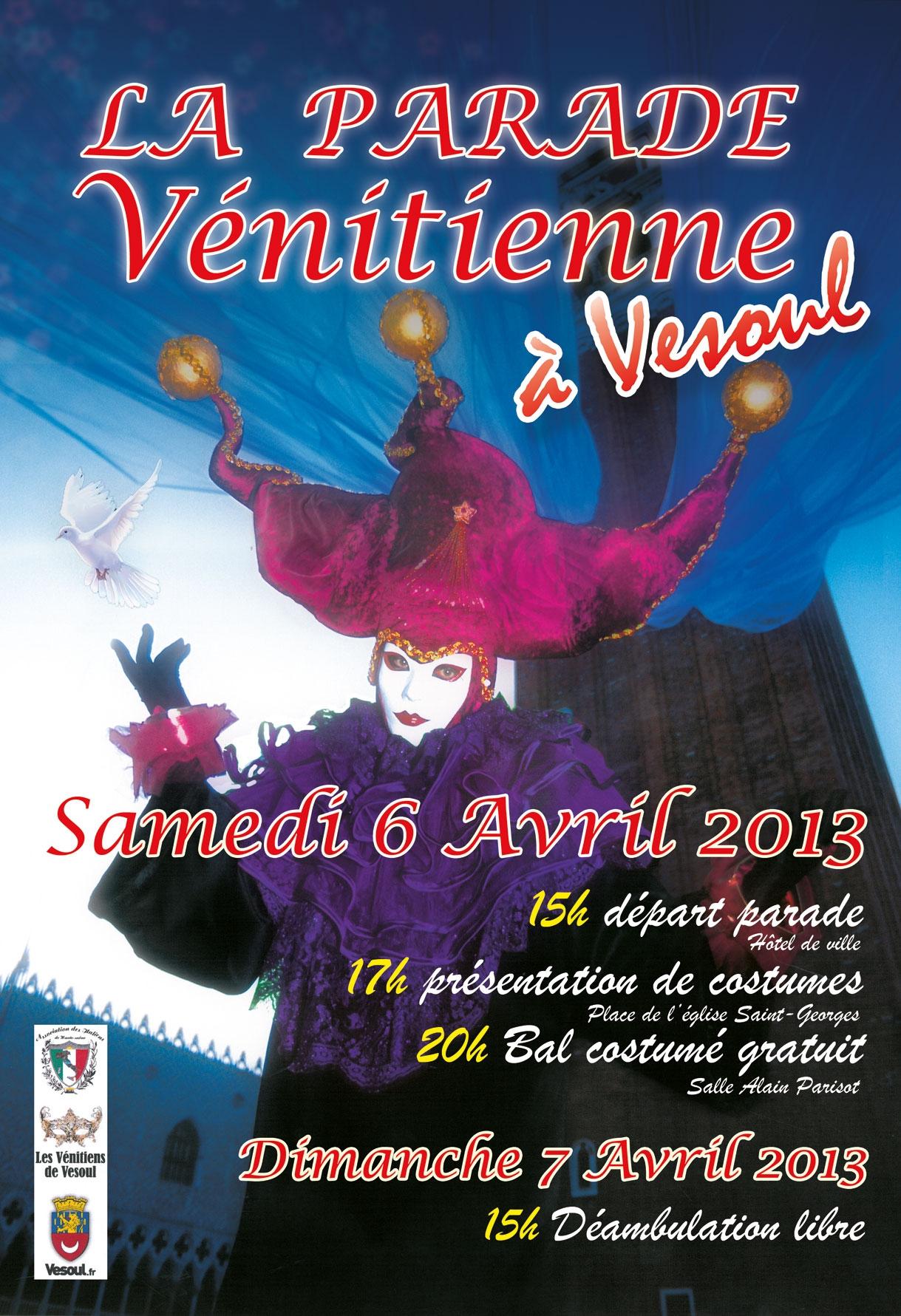 parade-venitienne-affiche_Vesoul 2013