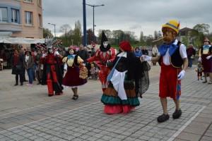 Pinocchio Carnaval Vénitien de Verdun 2013 Atelier la Colombe