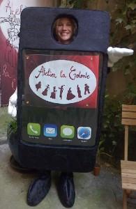 Téléphone portable Atelier la Colombe Strasbourg