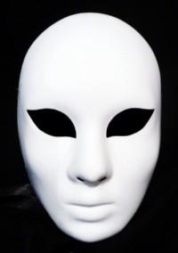 masque vénitien volto blanc atelier la Colombe Strasbourg