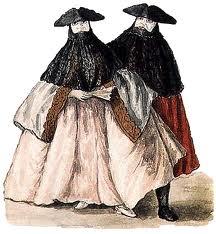 tabarro et bauta, un vêtement qui favorise l'anonymat