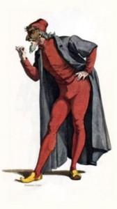 Pantalone, Maurice Sand 1860