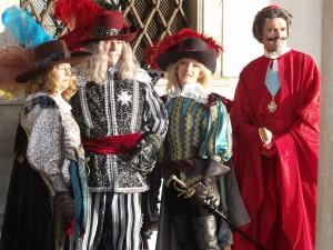 le Cardinal de Richelieu et les mousquetaires du Roi