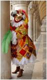 costume exécuté à partir de la photo d'une marionette CP René Hoff