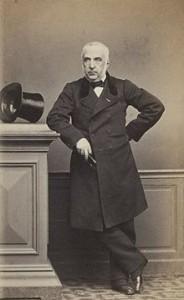 Ernest André, banquier et député en redingote