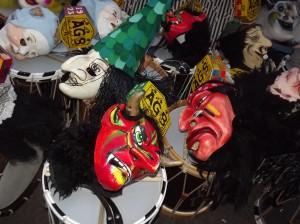 les masques du Carnaval de Bâle