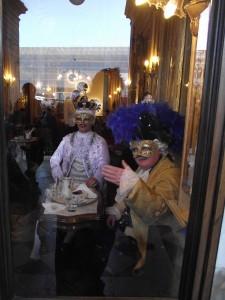 prendre un chocolat au Café Florian