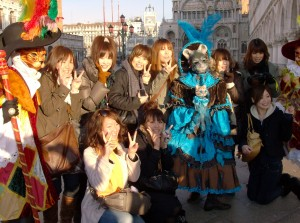 touristes japonaises