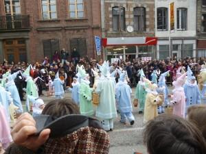 Carnaval de Binche, les Pierrots