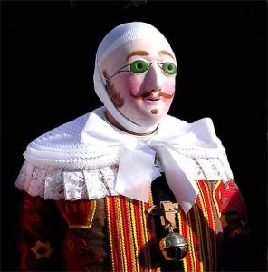 masque du Gille de Binche