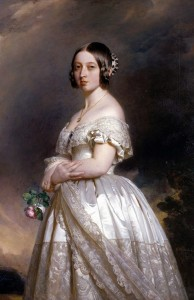 La Reine Victoria Portrait de Winterhalter en 1842