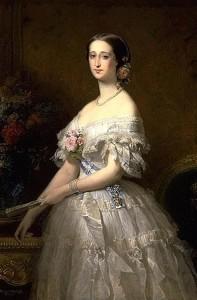 Impératrice eugénie Portrait Dubufe