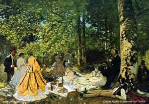 Monet : Le déjeuner sur l'herbe