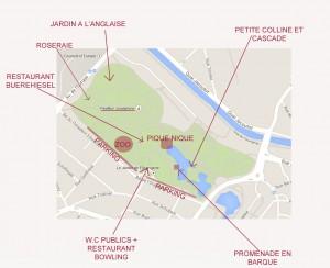 plan de l'Orangerie