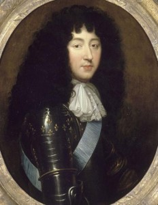 Philippe de France frère de Louis XIV, XVII, cravate nouée en rosette