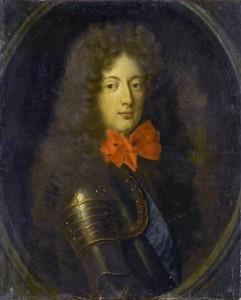 Philippe de Lorraine 1643-1702 : un noeud de rubans rouges