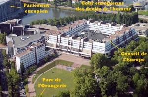 Orangerie, conseil de l'Europe