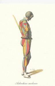Arlequin moderne, Maurice Sand, 1860