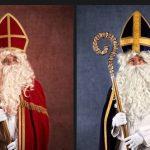 Saint Nicolas, habillé en rouge ou en violet ?
