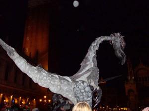 Spectacle de rue gratuit sur la place San Marco