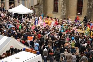 foule carnaval Longwy