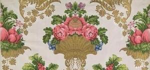 Lampas broché Musée des Tissus et des Arts décoratifs DR