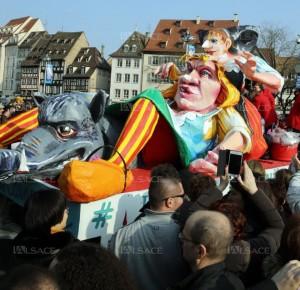 Carnaval de Strasbourg char de la grande région