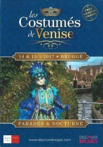 Affiche carnaval de Bruges 2017