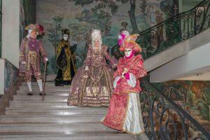 escalier-hotel de ville de vesoul, parade vénitienne