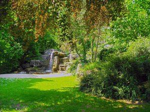 Le jardin anglais de Vesoul