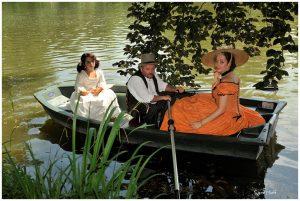 Promenade sur le lac de l'Orangerie