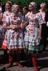 costume hongrois Kalocsa
