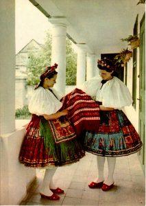 Costume Hongrois région Sarköz