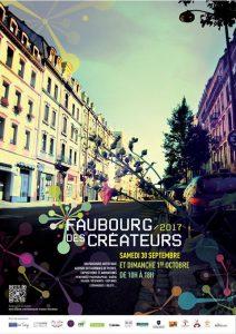 Affiche Faubourg des createurs 2017