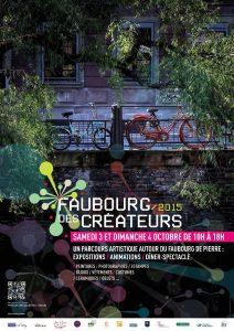 Affiche Faubourg des Créateurs 2015