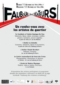 Affiche Faubourg des Créateurs 2014