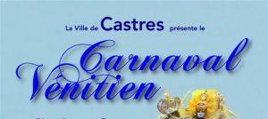 affiche carnaval de Castres