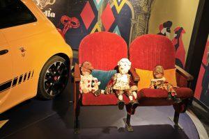 Polichinelle, Mozart et Arlequin MotorVillage Atelier la Colombe