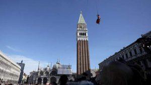 le Vol de l'Ange à Venise