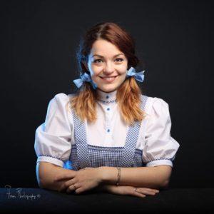Dorothy -Le magicien d'Oz CP Faon-Photography 2017
