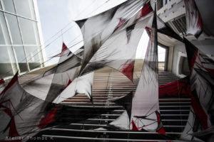 CSC Fossé des 13, installation Graff par Seku Ouane ©ThomasKuchel