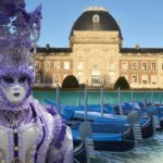 Parade vénitienne au chateau d'Hellicine en Belgique