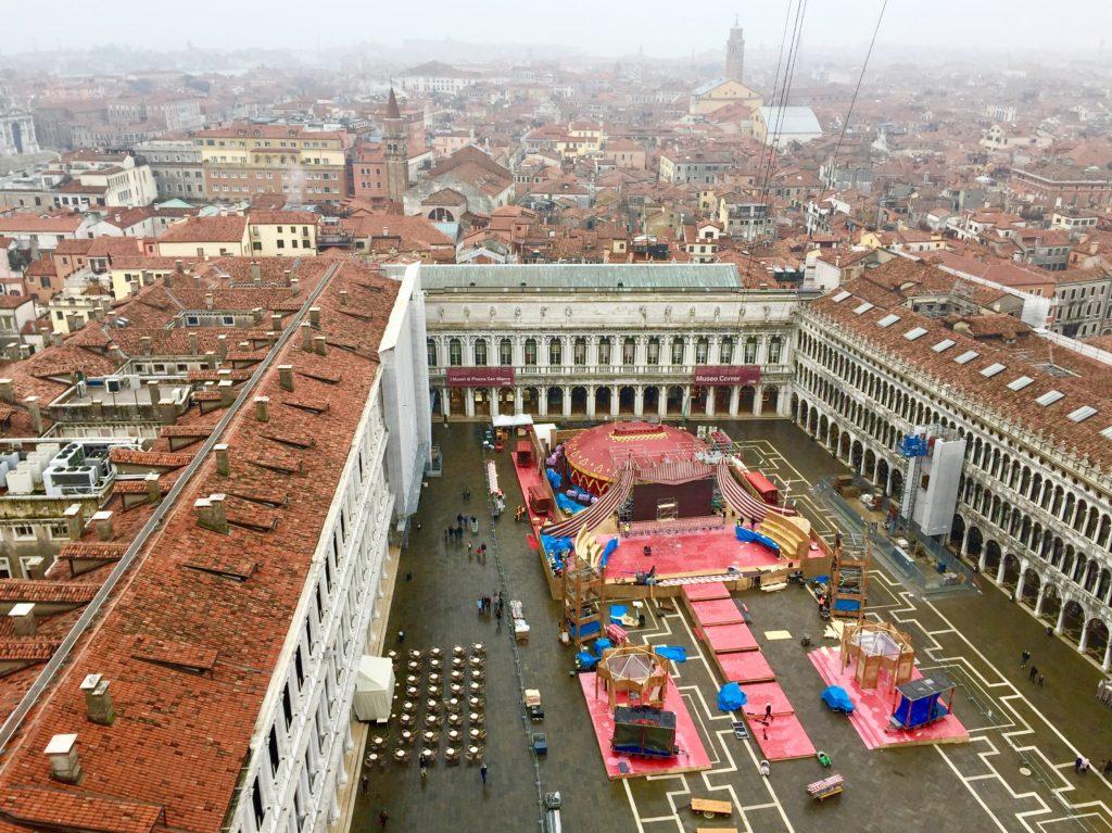 Le theatre de la place San Marco en 2018