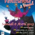 Première parade Vénitienne à Vesoul!