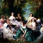 Eugénie, Victoria, Sissi et Scarlett