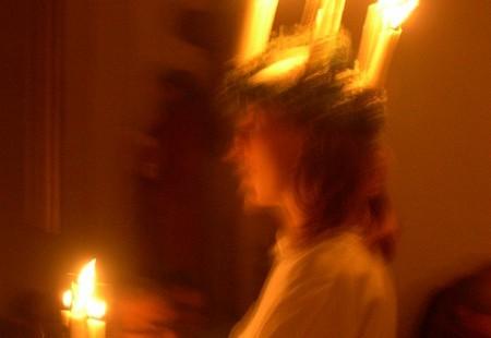 Ste Lucie et Christkindel : les lumières de l'hiver....