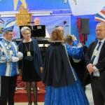 Remise des médailles de la saison carnavalesque é015-2016 par Martine 1ère Carnaval Bouc bleu