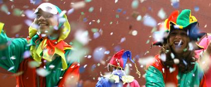 Calendrier soirées carnavalesques en Alsace en 2016