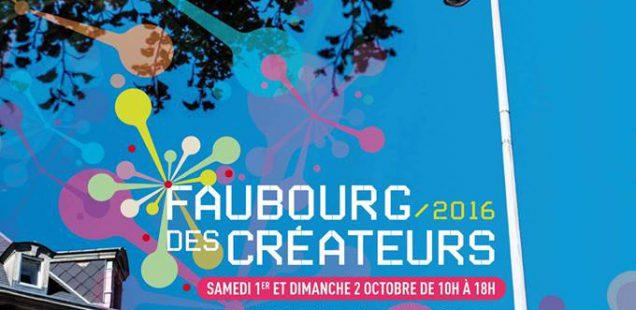Affiche Faubourg des Créateurs 2016